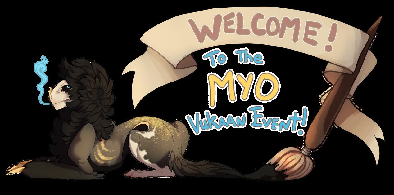 Vukaan MYO banner by KJfromColors