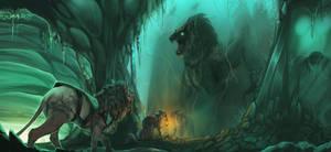 The Ice Caverns Secrets - Vayron Commission