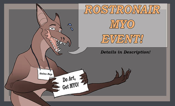 Rostro gift art MYO event OPEN
