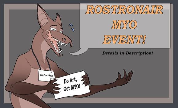 Rostro gift art MYO event OPEN
