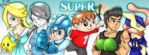 Super Smash Bros 4 Newcomers by AlphR