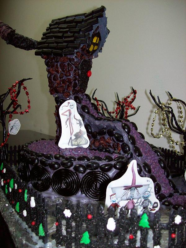 nbc gingerbread house take 5 by beckychoke - Nightmare Before Christmas Gingerbread House