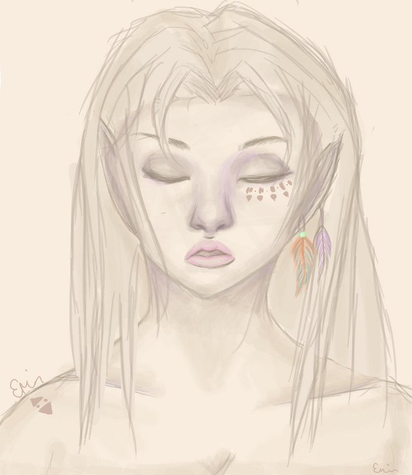 Delilah by ezrin-the-artist