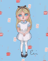 Oh, Alice. by ebee-the-artist