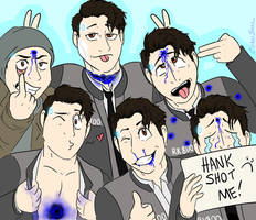 Connor's stunt doubles (group photo) by CipherSnail