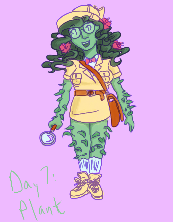day 7: plant by mandk