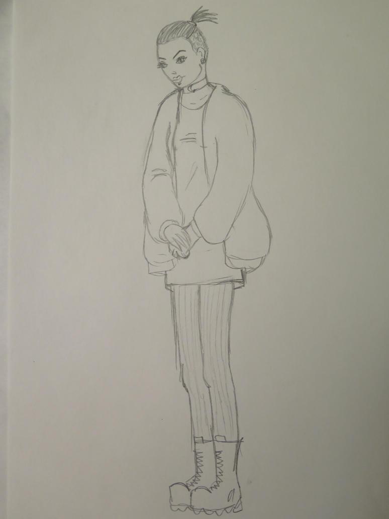 girl by Bloodybogyo