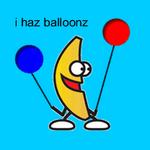 This Banana Has Balloonz by Blasphemi