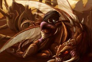 Snuggle Zergling by Sekhmet-SCII
