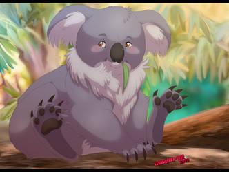 Harvey the koala by Strawberry-Tate