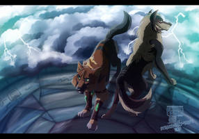 .:The fate of thor:. Collab by Strawberry-Tate