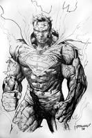 War-torn Superman by Reybronx