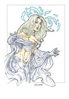 Emma Frost by Reybronx