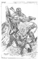 Punisher- Ghost Rider by Reybronx
