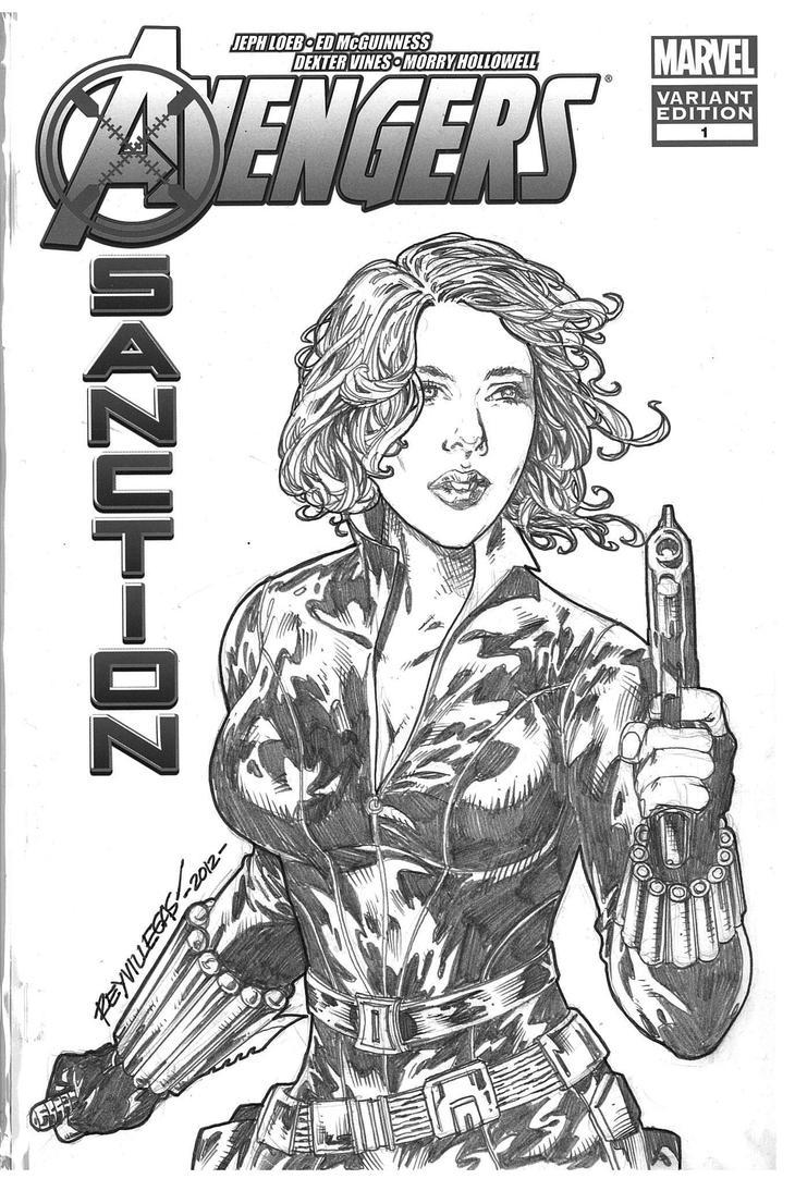 Avengers: Black Widow #1 of 7 by Reybronx on DeviantArt
