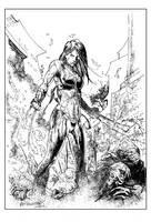 X-23 Inked by Reybronx
