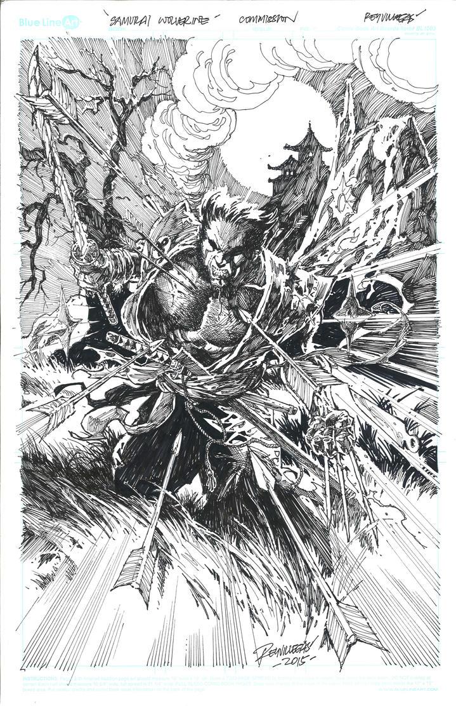 Ronin Wolverine by Reybronx