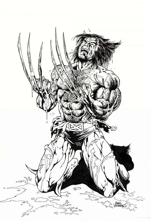 Wolverine Black And White By Reybronx On DeviantArt