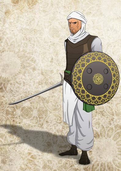 muslim soldier by Albraiki-art