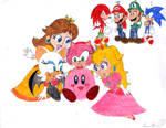 Kirby and Girls