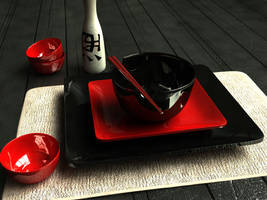 Japanese Table by vibe24