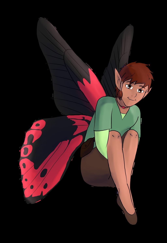 Male Fairy by Foxhatart on DeviantArt