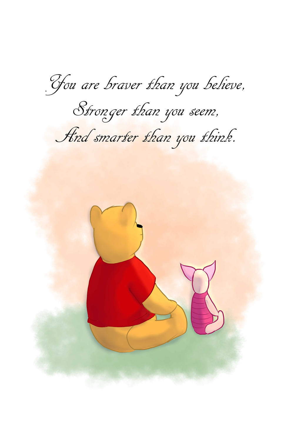 Winnie The Pooh Quotes Youre Braver Than You Believe Archidev