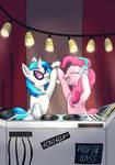 Pinkie pie and DJ Pony