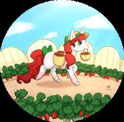 Junicorn 10: Red by Foxhatart