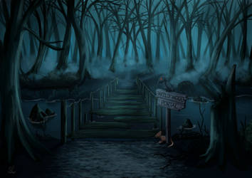 Commission: Wild Wood Portal