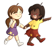 Commission: Lisa And Molly