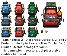TF2 Dispensers Updated by AzRaezel