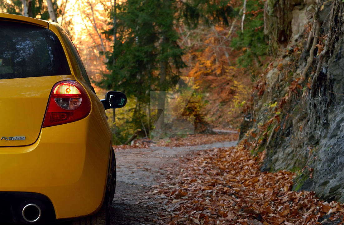 renault clio 3rs in autumn by pass hunters on deviantart. Black Bedroom Furniture Sets. Home Design Ideas