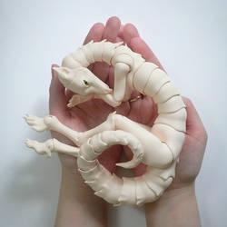 Dragon BJD Ivory