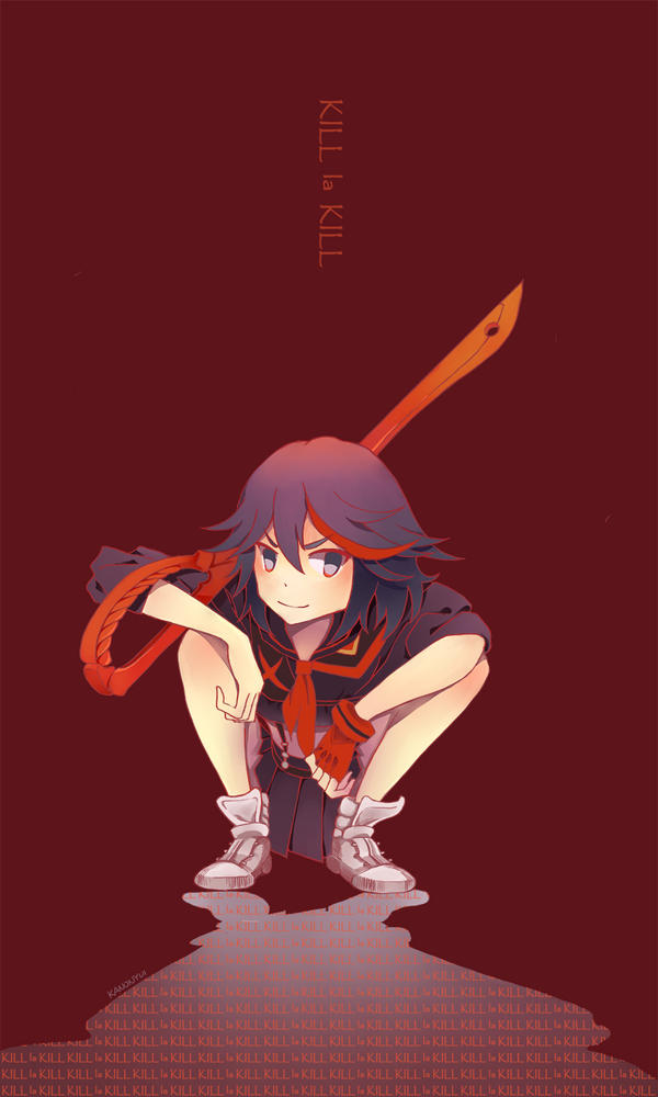 KILL la KILL Matoi Ryuko by kanonyui