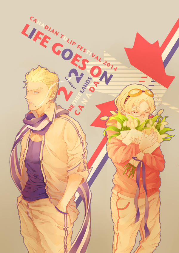 Life Goes On  2/2 (nedcan Hetalia) by kanonyui