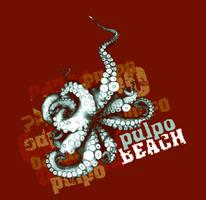 PULPO BEACH by Sillage-art