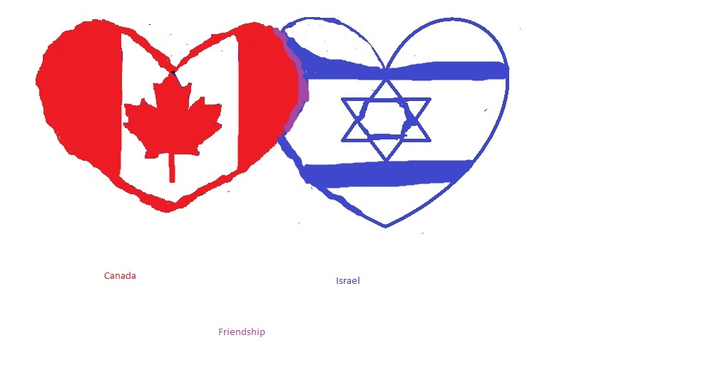 Canada and israel by sweetbaby500