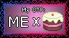 My 'One True Pairing': Me x Cake by Rainbow-Reverse