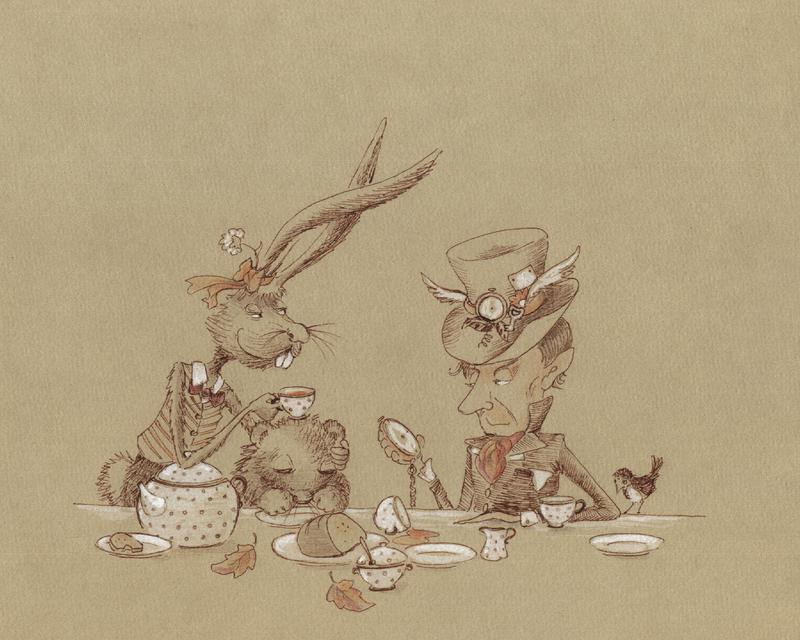 Mad Tea Party Trio by asiapasek