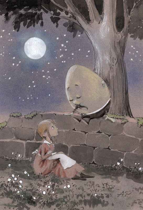 Meeting Humpty Dumpty by asiapasek