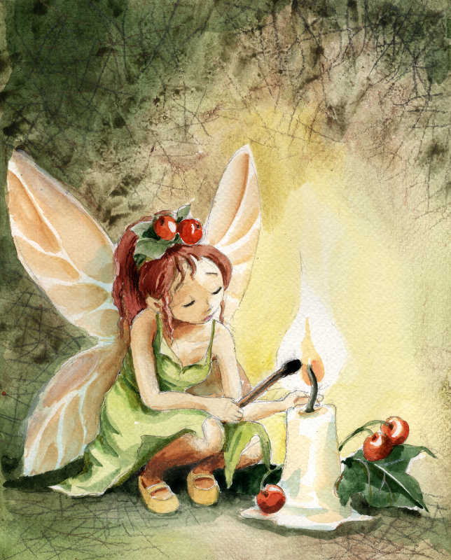 Christmas Fairy by asiapasek on DeviantArt
