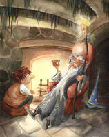 Gandalf Tells a Story by asiapasek