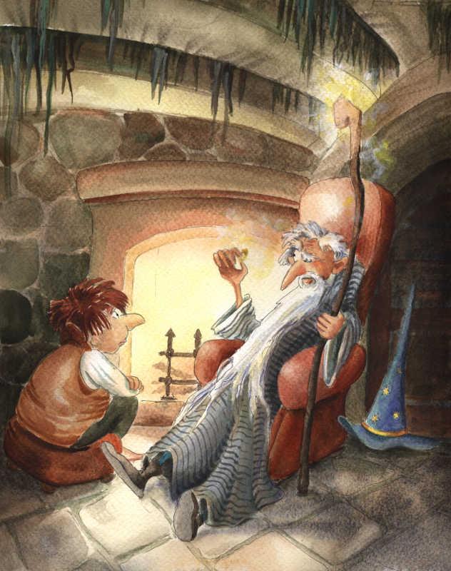 Gandalf Tells a Story by asiapasek