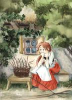 Princess the Basketweaver by asiapasek