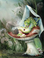 Life On The Mushroom by asiapasek