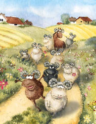 Sheep by asiapasek