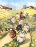 Sheep by joannapasek