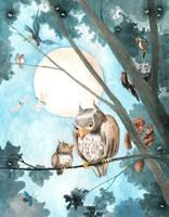 The Owls by asiapasek