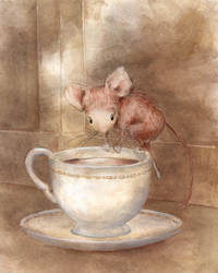 Mouse In The Teacup by asiapasek